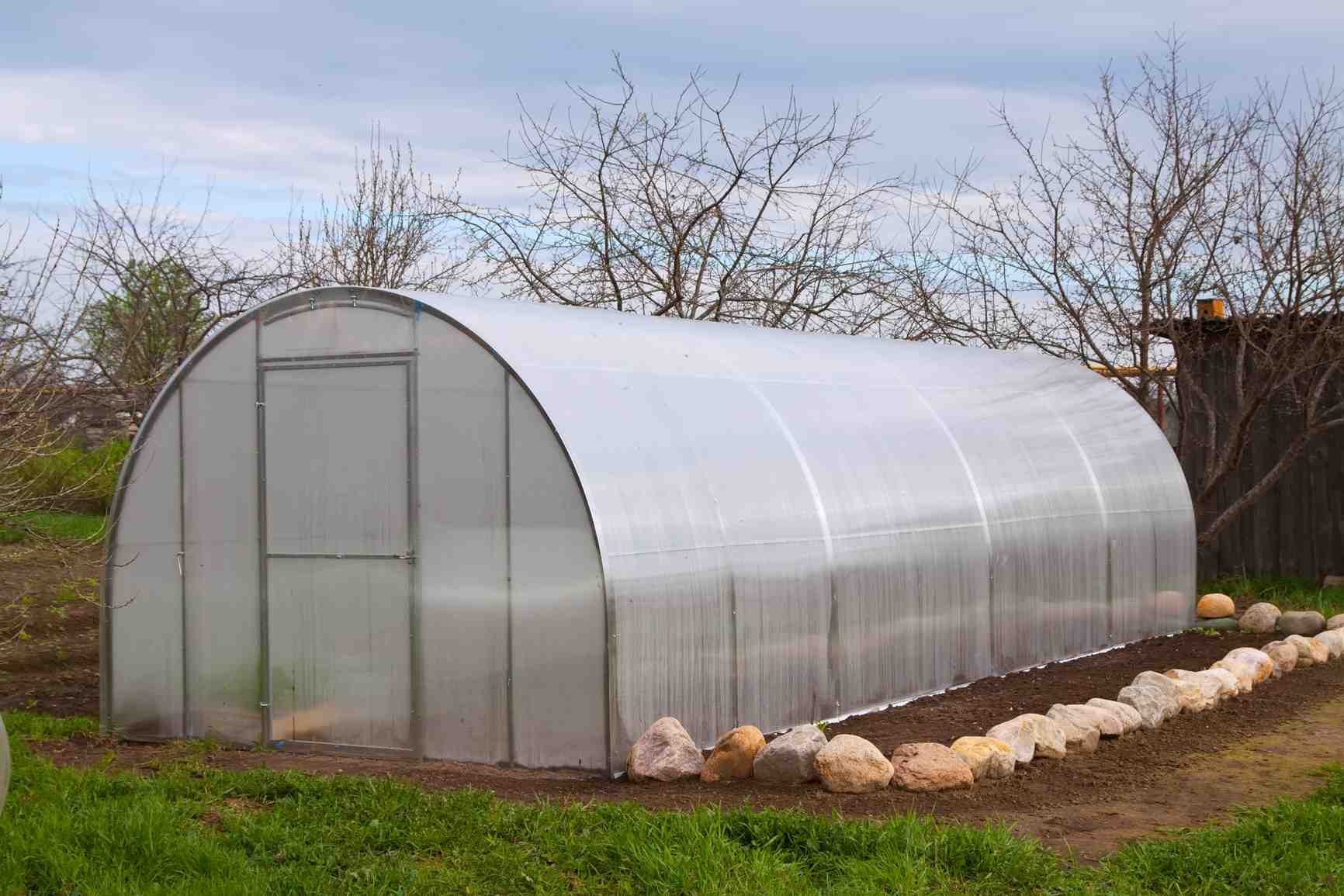 Image Gallery Hoop Greenhouse
