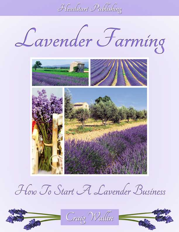 lavender farming book