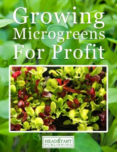 growing microgreens for profit book